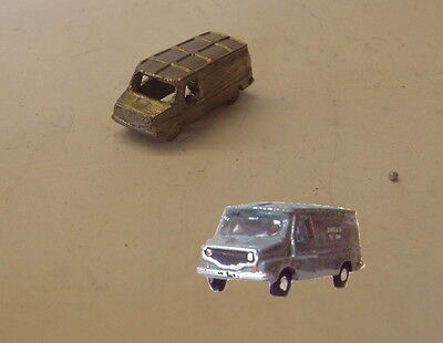 P&D Marsh N Gauge n Scale G11 Leyland Sherpa van casting requires painting