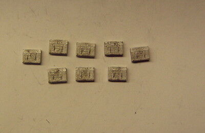 P&D Marsh N Gauge n Scale A410 Battery boxes - large (8) detail part needs pntg