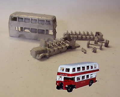P&D Marsh N Gauge n Scale G57 Bristol KSW double deck bus kit requires painting
