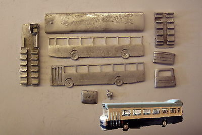 P&D Marsh N Gauge n Scale E132 Leyland National MkI bus kit requires painting