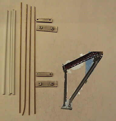 P&D Marsh N Gauge n Scale M71 Conveyor elevated supports kit requires painting