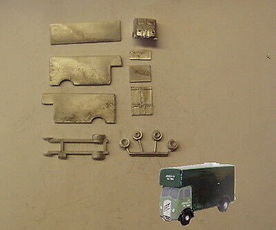 P&D Marsh N Gauge n Scale E96 ERF Furniture removal lorry kit requires painting