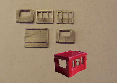 P&D Marsh N Scale n Gauge M19 Site office kit requires painting