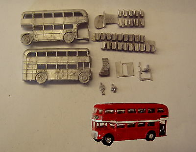P&D Marsh N Gauge n Scale G72 RM double deck bus kit requires painting
