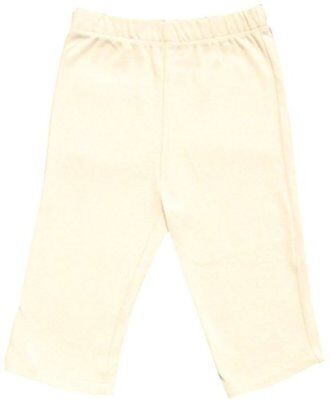 GOTS Certified Organic Cotton Clothing Baby Pants No Dyes (Natural 3-6m)
