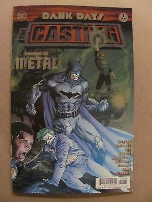Dark Days The Casting #1 DC Comic 2017 Jim Lee Foil Cover 1st Print 9.6 NM+