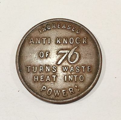 1933 Lucky Coin from 76 Gas Co ~ Anti Knock ~ Collectible ~ Vintage