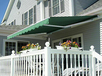 Manual 10' 12' 13' Sunshade Shelter Retractable Window Awning Patio Outdoor