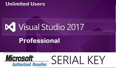 Visual Studio 2017 Professional Lifetime License Key - Connect With your Email