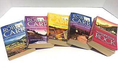 5 book lot ROBYN CARR Virgin River Novels Used Free Shipping