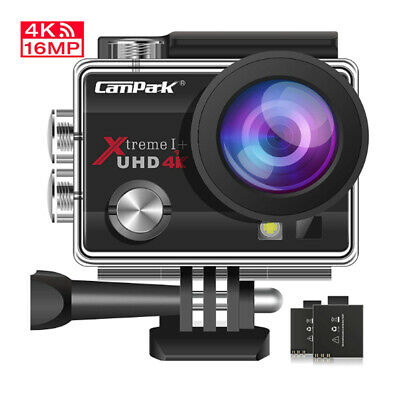 Campark ACT74 Action Cam 4K WiFi Sports Camera SONY Sensor Waterproof AU STOCK