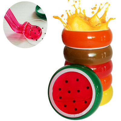 Creative Fruit Crystal Clay Putty Jelly Slime Plasticine Mud Kids Toy SY