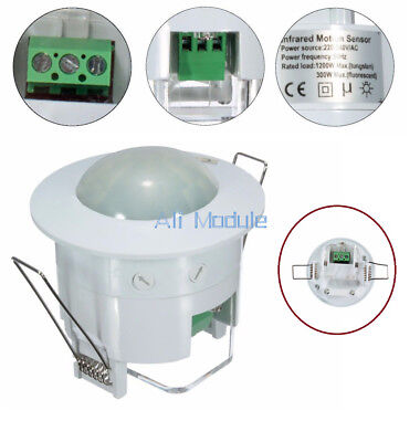 Mini HC-SR505 /360° Ceiling Infrared PIR Body Motion Sensor Lamp Light Detector