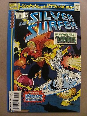 Silver Surfer #87 Marvel Comics 1987 Series 9.2 Near Mint-