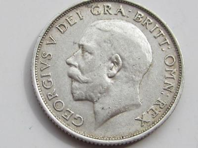George V 1915 silver shilling - Great collectable coin