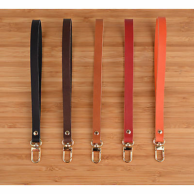 Richbud Leather Wrist Hand Strap Lanyard Swivel Lobster Claw Clasp
