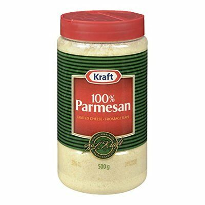 KRAFT Grated Parmesan Cheese Pack of 1 500g