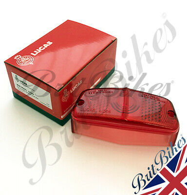 Genuine Lucas L564 Motorbike Rear Lamp Lens