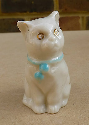 CARLTON Crested China Cat - Eastbourne