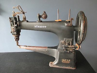 Antique Durkopp CL 17-1-0 Industrial Leather / Shoe sewing machine