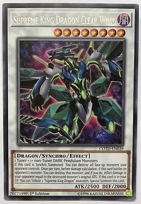 Yu-Gi-Oh! COTD-EN039 - Supreme King Dragon Clear Wing - 1st edition