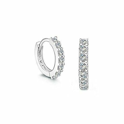 FANSING Jewelry 925 Sterling Silver Small Hoop Huggie Earrings for Womens and...