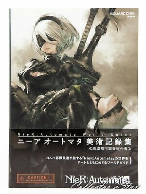 3 - 7 Days | NieR Automata World Guide Art Collection Book from JP