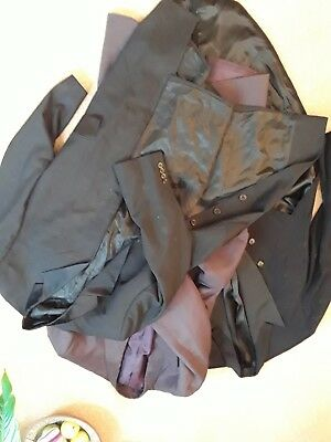 Job lot of one frock and two tail coats, ideal for wedding, formal or...