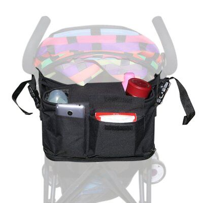 ACRATO Baby Stroller Organizer Diaper Bag - Extra Storage Space for iPhones, &
