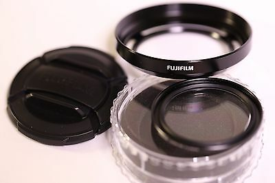 Fujifilm X20 Lens Hood And Filter Set (Black)