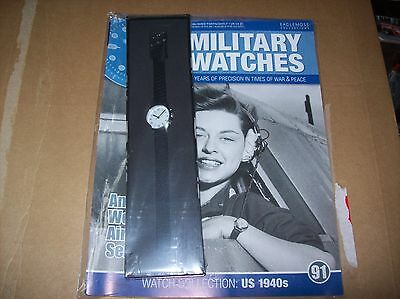 Military Watches Magazine Collection Issue 91 American Woman airforce pilot 1940