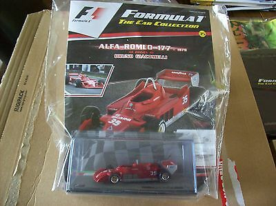 Formula 1 The Car Collection Part 35 Alfa Romeo 177 1979 Bruno Giacomelli