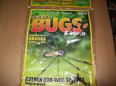 National Geographic Real-life Bugs & Insects magazine Issue 49