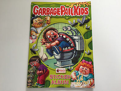 2004 UK Garbage Pail Kids NEW Series Stickers ALBUM - Very RARE