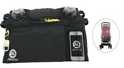 Stroller Organizer Bag with Cup Holders and Stroller Mosquito Net Cover for by -