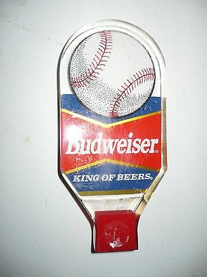 Budweiser Baseball Beer Tap Handle