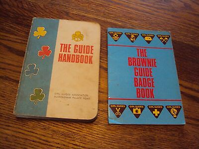The Guide Handbook (PB 1975) The Brownie Guide Badge Book Girl Guides