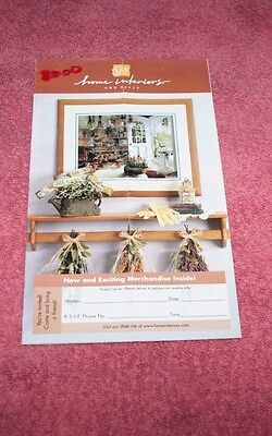Decor kitchen herbs picture 2000 Home Interiors Gift Catalog Brochure 9.5 x 5.5
