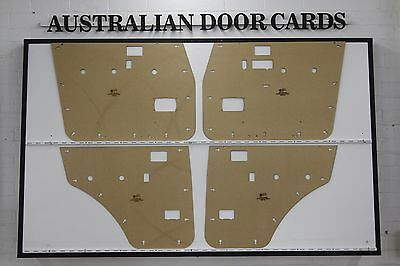 Toyota 60 Series Land Cruiser Door Cards Blank Trim Panels. Suit Electric Window