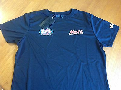 Afl Blk Training T-Shirt Brand New With Tags Various Sizes Available