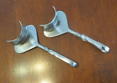 Vintage Lot of 2 Sklar Ring Handle Ob/gyn Obstetrical Retractors