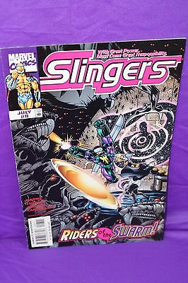 Slingers #8 Riders of the Swarm 1999 1st Print Marvel Comics Comic F/VF