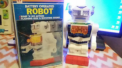 Vintage Robot Battery Operated Besford 1970S