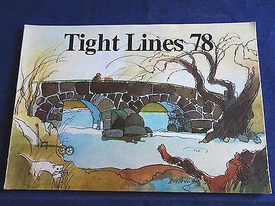 Vintage Abu Tight Lines Fishing Catalogue For 1978