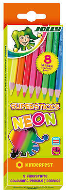JOLLY Supersticks kinderfest NEON-Kollektion 8er Set