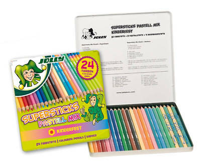 JOLLY Supersticks Pastell-Mix 24er