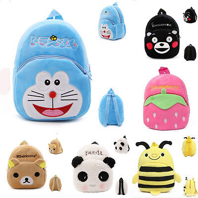 24 Style Toddler Kid Children Boy Girl 3D Cartoon Backpack School Bag Rucksack