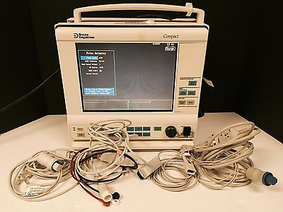 Datex-Engstrom Anesthesia Series Compact Monitor with Cables