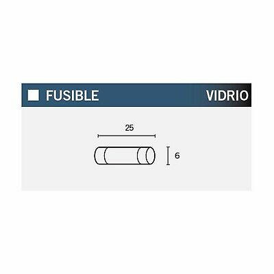 Fuse Glass Fuse 25x6mm 30A