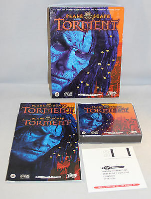 Planescape Torment Big Box PC CD Rom Complete & Unplayed